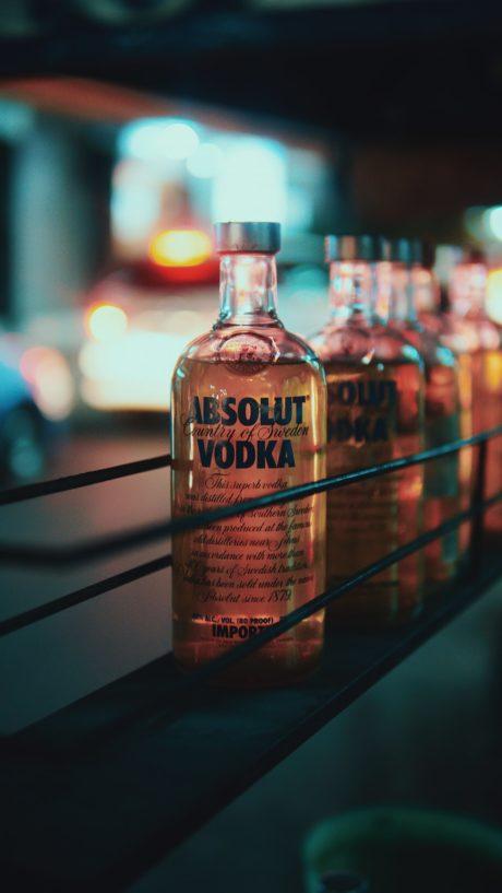 Russian Vodka. Absolut Vodka.